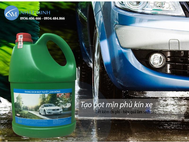 Sản phẩm hóa chất rửa xe mới nhất thương hiệu HT3M