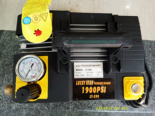 máy rửa xe gia đình cao áp lt590-3
