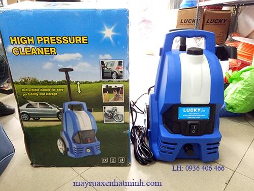 máy rửa xe gia đình mini nhập khẩu 110p
