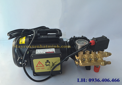 Máy rửa xe mini cao áp TD190