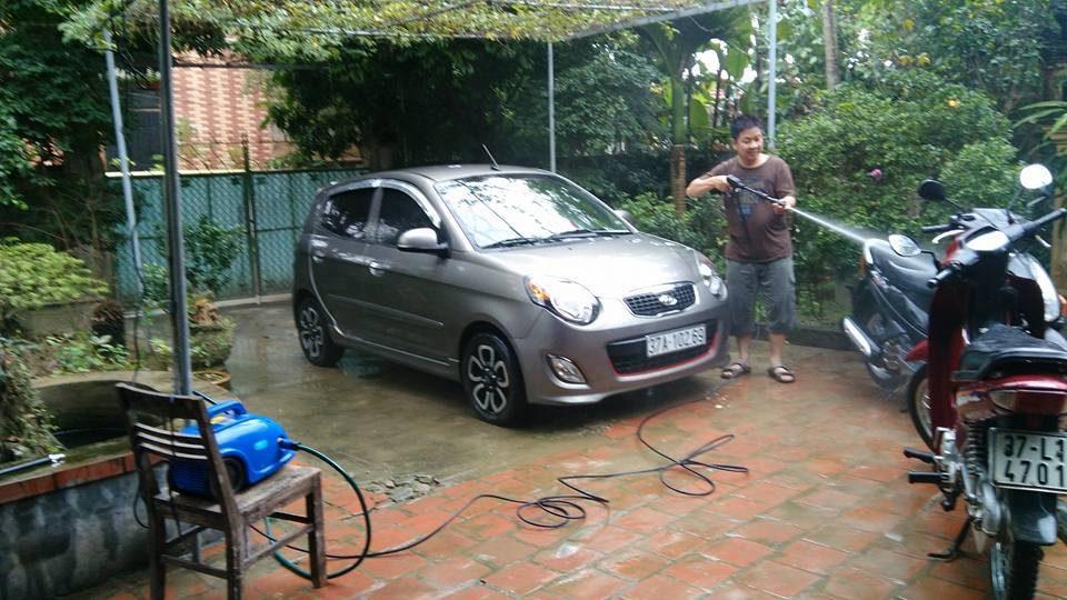 bán máy rửa xe tại Thái Nguyên