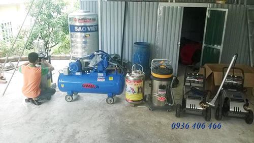 bán máy rửa xe ô tô tại Hải Dương