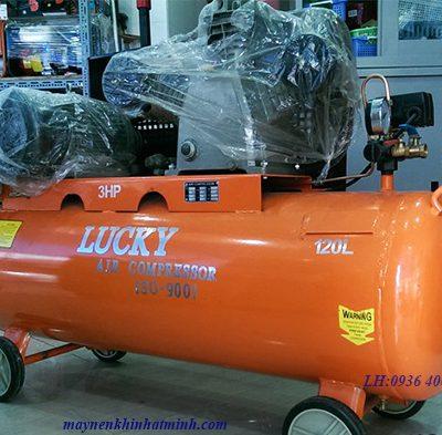 Máy nén khí piston công nghiệp 120lit 3HP Lucky