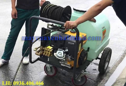 Máy phun rửa chạy xăng 3WZ-300T 15HP
