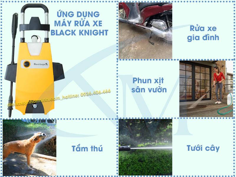 Công dụng máy rửa xe mini Black Knight 6230T