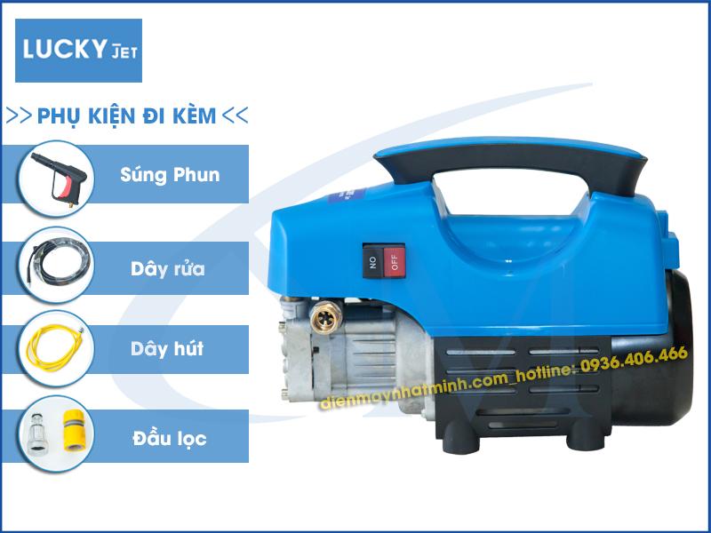Khuyến mại phụ kiện máy rửa xe mini Lucky Jet QL-1400