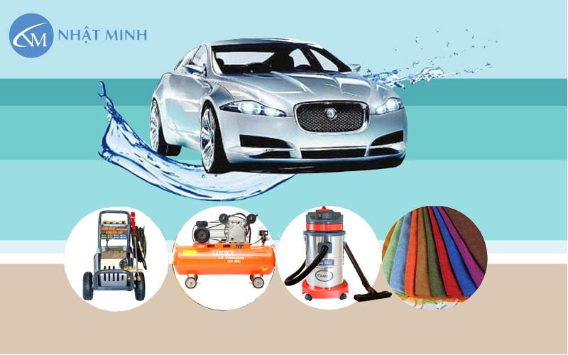 Bộ thiết bị rửa xe ô tô chuyên dụng điện 1 pha được lựa chọn nhiều nhất