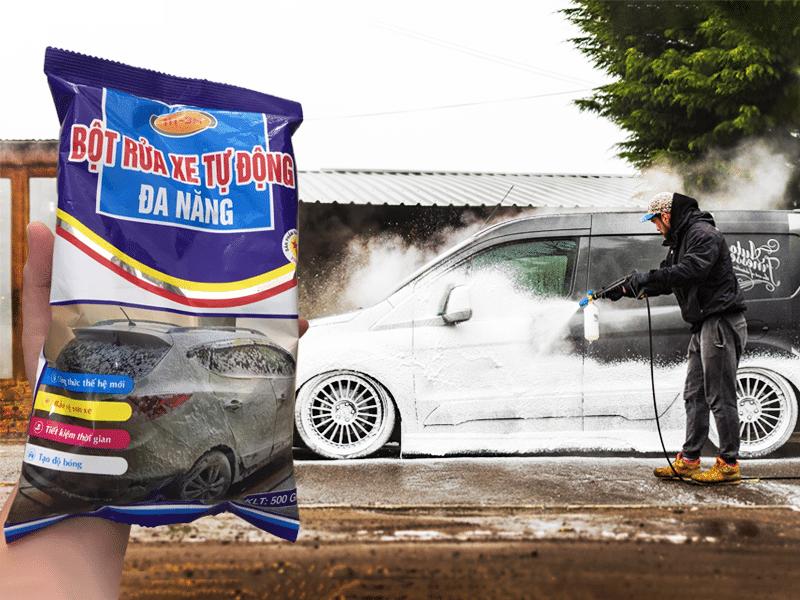 Thông tin bột rửa xe không chạm HT-3M
