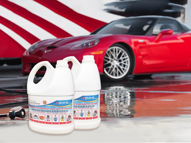 Hóa chất rửa xe sản xuất theo đơn đặt hàng