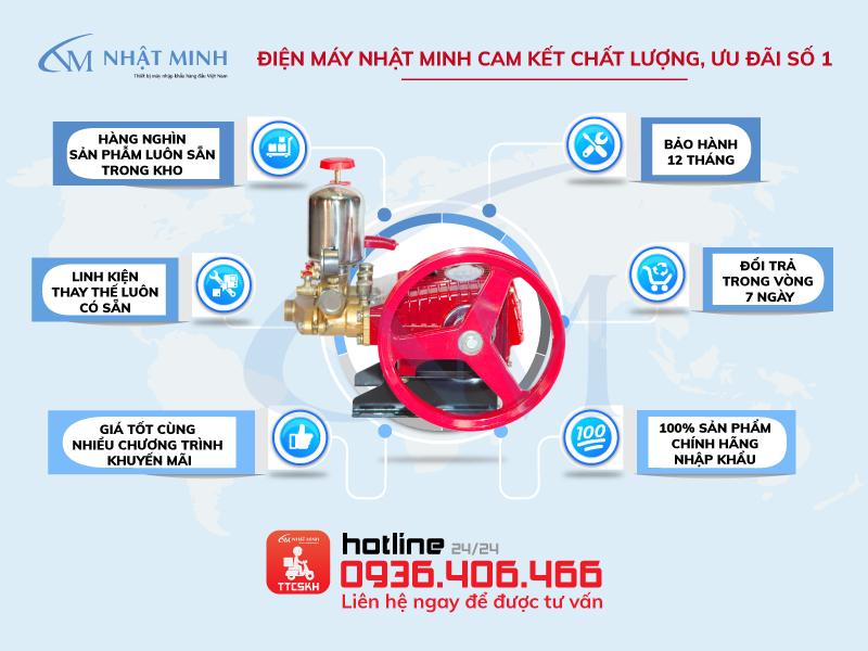 Điểm bán máy bơm rửa xe HL45 chính hãng