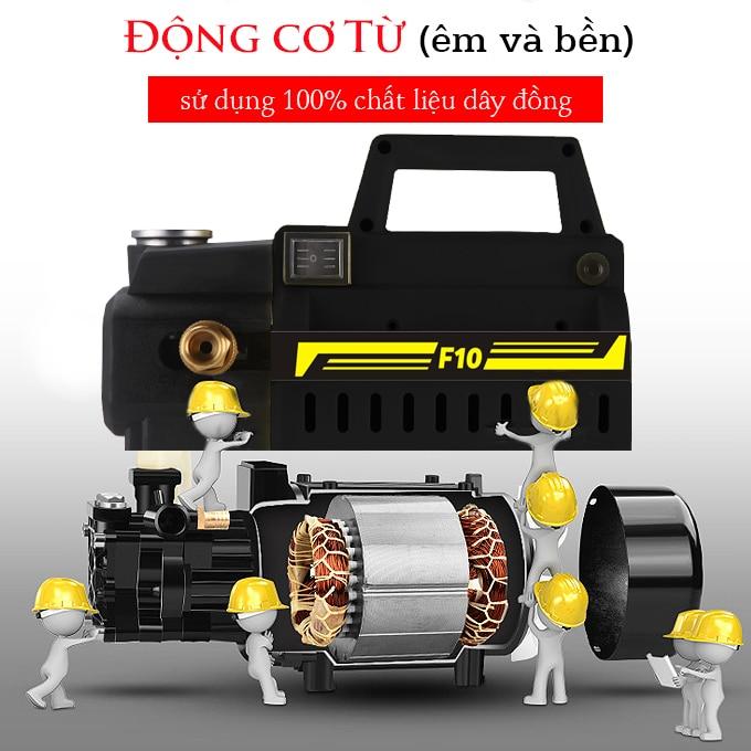 Mô tơ máy rửa xe mini là bộ phận quan trọng bậ nhất