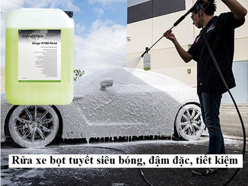 Dung dịch rửa xe chuyên sâu số 1 hiện nay