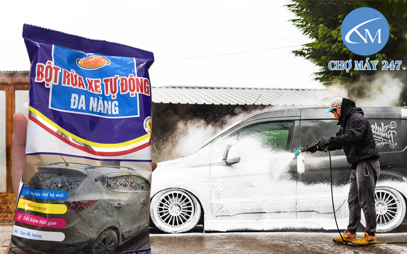 Hóa chất rửa xe 3M sạch sâu, an toan