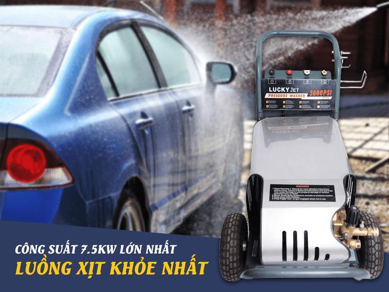 Đặc điểm máy rửa xe ô tô công nghệ cao
