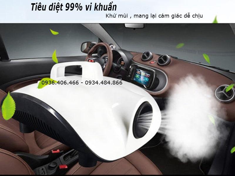 Đầu tư chiếc máy khử mùi Nano tạo không gian sạch, mùi hương dễ chịu trên xe