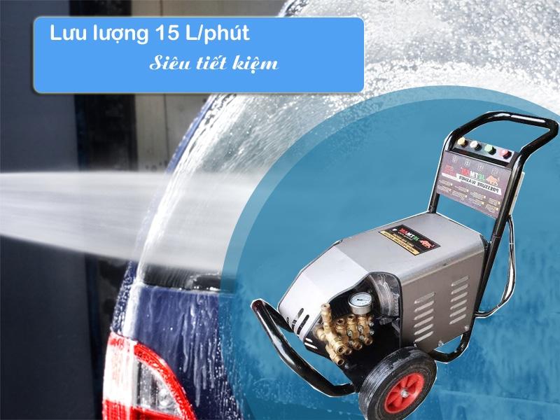 Giá mát rửa xe ô tô 3 pha công suất lớn