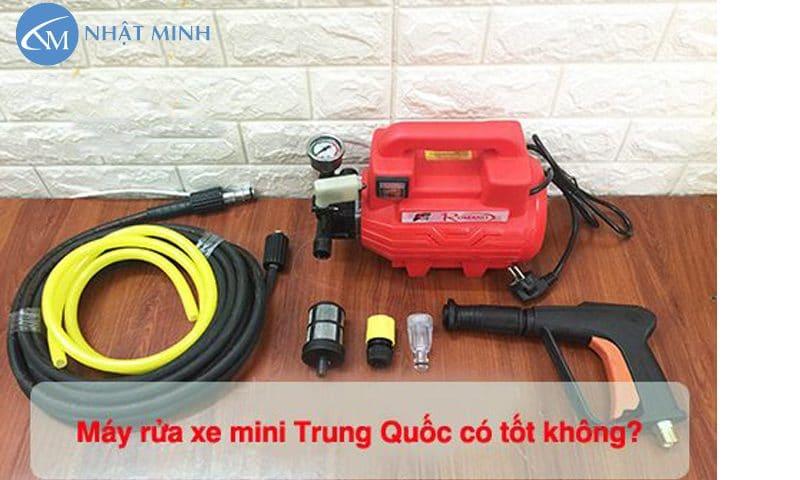 máy rửa xe gia đình Trung quốc tốt nhất 2021