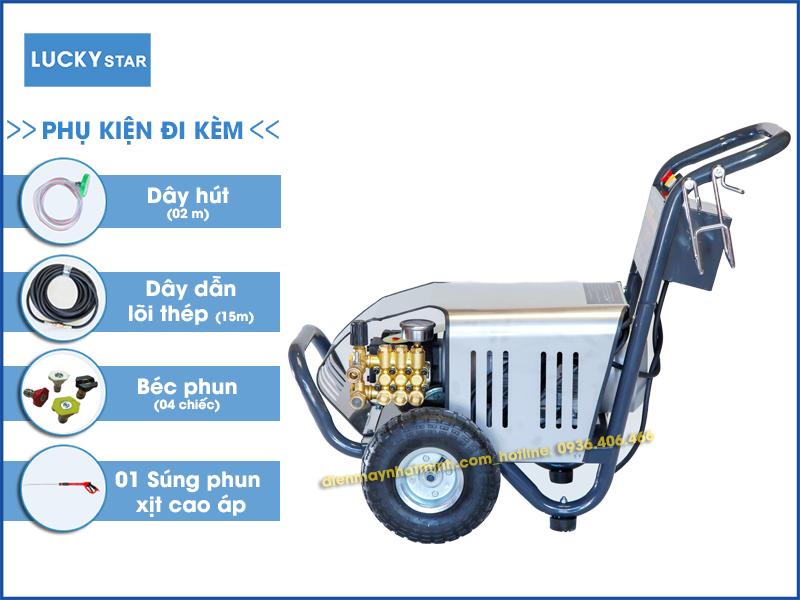 Phụ kiện đi kèm máy rửa xe cao áp