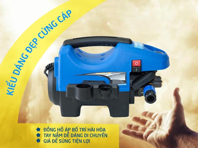 Máy rửa xe mini nhỏ gọn, áp suất mạnh