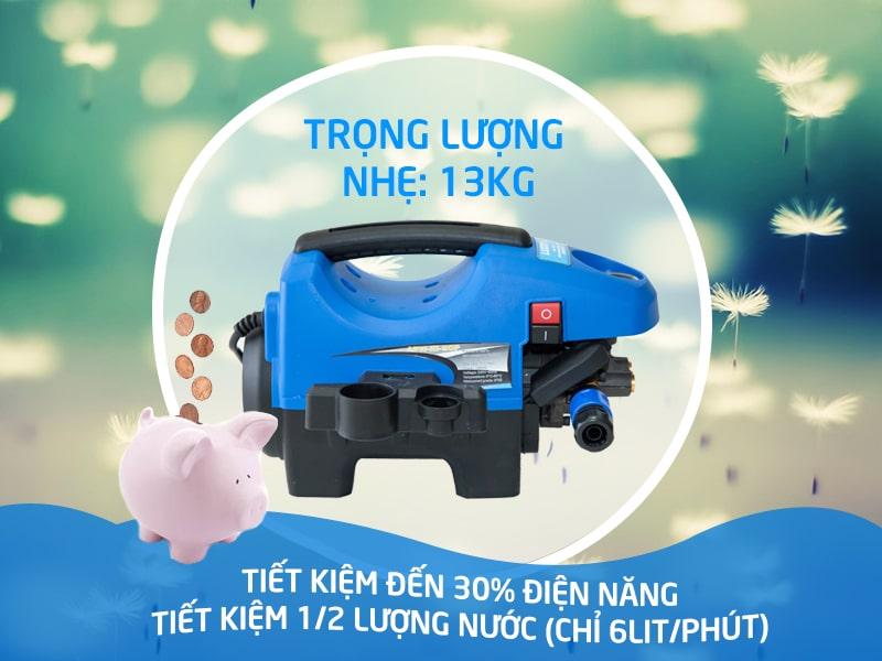 Sở hữu máy rửa xe mini gia đình tiết kiệm chi phí