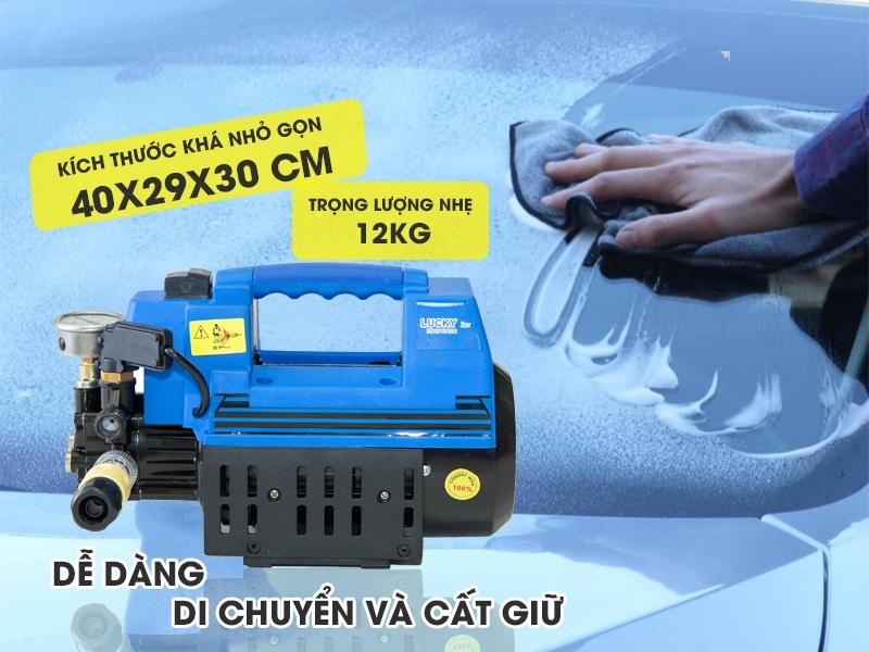 Máy rửa xe gia đình 1800W Lucky Jet QL1800 thiết kế tiện dụng