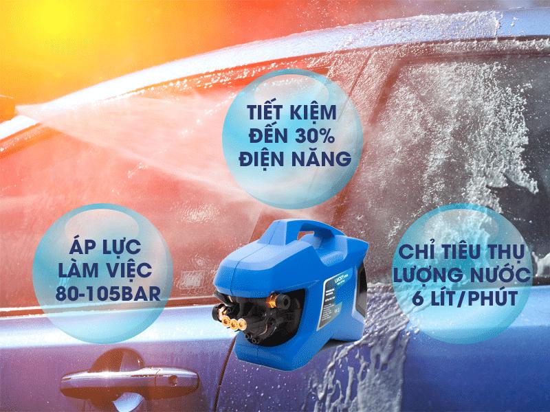 Máy rửa xe gia đình  nhập khẩu nội địa Trung Quốc loại tốt