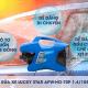 Máy rửa xe mini Trung Quốc chính hãng thiết kế tinh tế, bền bỉ