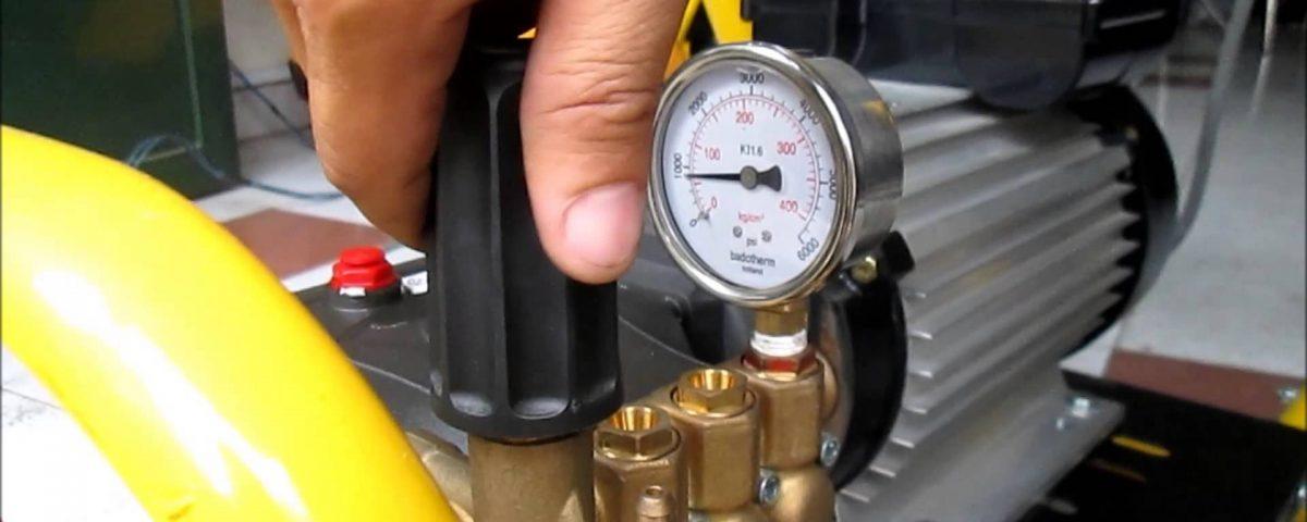Cụm điều chỉnh áp máy rửa xe