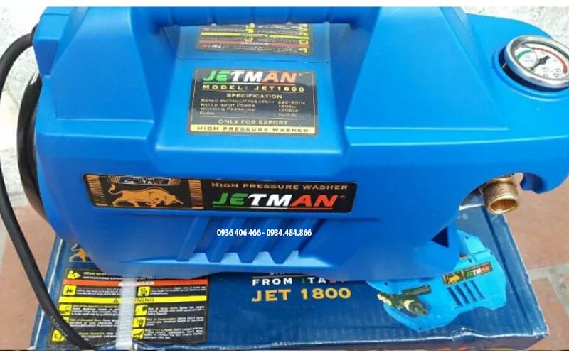 Máy xịt rửa xe mini Trung QUốc Jetman 1.8Kw giá rẻ